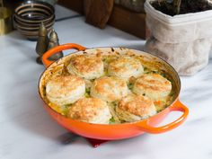 Biscuits (Savory) from Turkey Potpie with a Biscuit Crust recipe by Gesine Bullock-Prado of Baked in Vermont Baked In Vermont, Food Network Recipes, Cooking Recipes, Cooking Tips, Crust Recipe, Roasted Turkey, Chicken Recipes, Sausage Recipes, Turkey Recipes