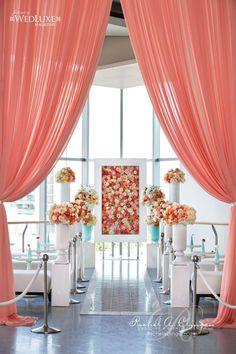 Creatively Glamorous Wedding Ideas - wedding ceremony; photo: photo: Visual Cravings