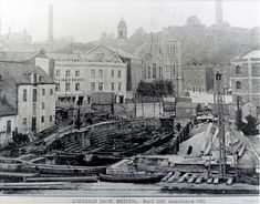 Limekiln Dry Dock, Bristol | image above: A rare view of Lim… | Flickr