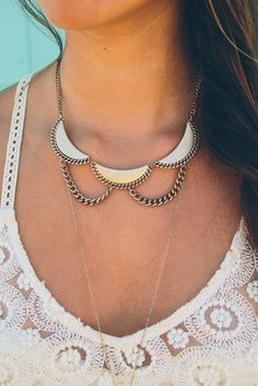 Gold Horizons Necklace