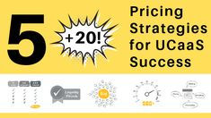 Arguably the most important factor in a sales negotiation is the price. As a #UCaaS company, to maintain a competitive advantage you must explore different pricing strategies.  Here are 5 (+ 20!) Pricing Strategies for #UCaaS Success.  #Pricing #PricingStrategy #Cloud #CloudBilling #CloudBased #UCaaSIndustry #UCaaSEconomy #Sales  #Cloud #ITManagement #CustomerExperience  #UCaaS #OneBillSoftware