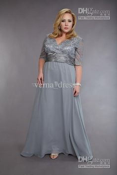 Wholesale Evening Dresses - Buy 2013-Fashion Exquisite Lace And Chiffon Plus Size Mother of the Bride Dress Formal Prom Gown Elbow-length, $...