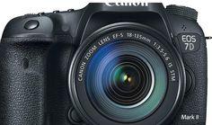 Notícias sobre Tecnologia atual!!!: Canon anuncia a chegada da EOS 7D Mark II