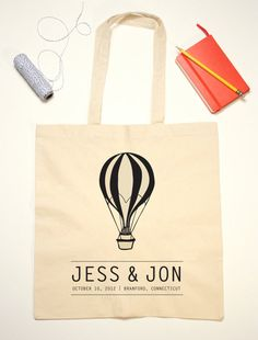 """One can make DIY fun tote bag for bridesmaids and bestmen. I'm sure local """"press your own t-shirt"""" -shop can help you."""