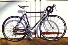 1993 Specialized Allez Epic, carbon tubes with aluminum lugs, Shimano 600 Ultegra 6400-series parts. Classic!