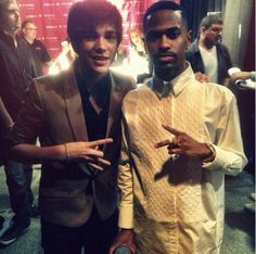 Austin Mahone & Big Sean.