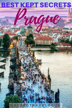 I am sure you know all about the main sights in Prague but do you know about the best kept secrets in Prague? These are interesting things to do that tourists don't normally have on their list. Prague is full of surprises so why not start with these? Backpacking Europe, Europe Travel Guide, Travel Guides, Travel Deals, Travel Hacks, Travel Advice, Travel Essentials, Europe Budget, Europe Packing