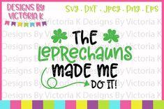 Laser Cut Files, Craft Club, Free Svg Cut Files, Christmas Svg, Monogram Fonts, Leprechaun, Svg Cuts, St Patricks Day, Cutting Files