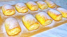 Sweets Recipes, Cake Recipes, Cooking Recipes, Croissant, Romanian Food, Cata, Pavlova, Pretzel Bites, Hot Dog Buns