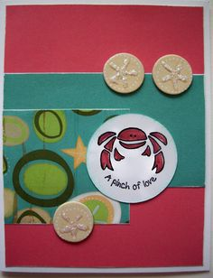 A Pinch of Love Footloose Card  Stamp, Scrap, Craft with Judy