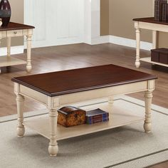 Country Coffee Tables Black