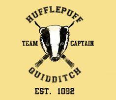 Hufflepuff Quidditch @teefury