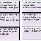 Spanish reading comprehension. This is a set of cards to be used during guided reading, independent reading or literacy work stations. ...