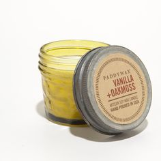 Vanilla & Oakmoss Mini Jar Candle