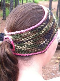 Love this!!! Now I won't have a huge ugly bump on the back of my head and can still do my hair! Check out this item in my Etsy shop https://www.etsy.com/listing/174530798/ponytail-camo-pink-ear-warmer-headband