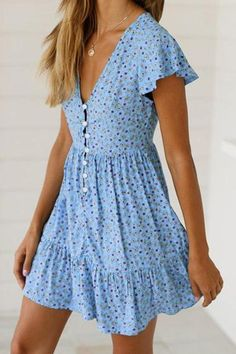 2019 Sexy Ruffled V-Neck Printed Dress - 2019 Sexy Ruffled V-Neck Printed Dress – modevova mini dress casual,summer mini dress,pretty dresses, fashionable dresses Source by kylee_mack - Dresses Elegant, Simple Dresses, Pretty Dresses, Sexy Dresses, Dress Outfits, Short Dresses, Formal Dresses, Midi Dresses, Beautiful Dresses