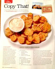 Fried Pickles (copycat recipe from Texas Roadhouse)
