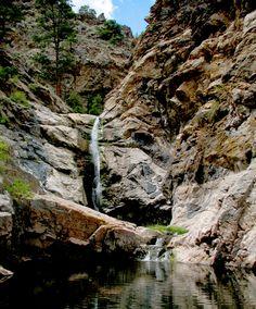 Duck Creek Falls - Lovely SE Wyoming waterfall!