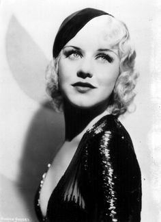 The brilliant and talented Ginger Rogers...can I get my hair to do this?  pin curls/vintage/old hollywood