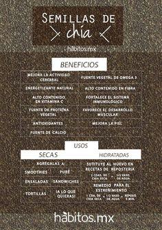 Hábitos Health Coaching |   BENEFICIOS DE LAS SEMILLAS DE CHÍA