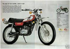 YAMAHA-Brochure-DT125-DT125C-1976-Sales-Catalog-Catalogue-REPRO