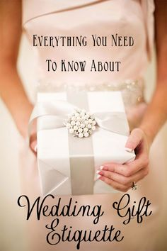 Wedding Gift Etiquette - How much to give as a wedding gift