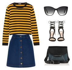"""""""Weekender #2"""" by ella178 ❤ liked on Polyvore featuring Oasis, Miu Miu, Dolce&Gabbana, Diesel, ALDO, women's clothing, women, female, woman and misses"""