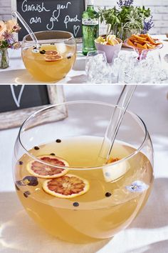 The gin boom is still going strong but you can now wow with a uniquely personali. Cocktail Garnish, Champagne Cocktail, Signature Cocktail, Cocktail Recipes, Cocktails, Summer Punch, Tequila Sunrise, Food Trends, Baileys
