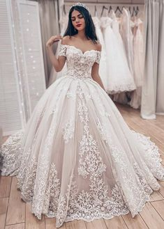 Wedding Dresses Lace Beach New Off-the-Shoulder Lace Bridal Wedding Dresses Angrila.Wedding Dresses Lace Beach New Off-the-Shoulder Lace Bridal Wedding Dresses Angrila Lace Bridal, Strapless Lace Wedding Dress, Lace Ball Gowns, Wedding Dress Train, Ball Dresses, Prom Dresses, Winter Wedding Dress Ballgown, Bridesmaid Dresses, Evening Dresses