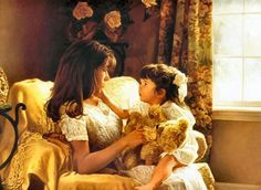 Raising Godly Children: Don't Lose Your Cool As a Mom- 10 ideas to help you diffuse your anger when a child misbehaves. Rhode Island, Mother And Child Painting, Raising Godly Children, Lessons Learned In Life, Great Paintings, Realistic Paintings, Believe In God, Jolie Photo, Mothers Love
