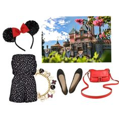 disneyland/ disney world outfit @Colleen Sweeney Egan Disney World Totally should get a romper for my trip! what a cute and comfy idea!