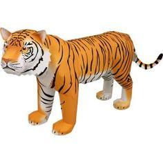 Tiger,Animals,Paper Craft,Asia / Oceania,yellow,Mammals ,Endangered species,Animals,cat,Carnivores,Paper Craft