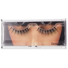 Benefit Cosmetics Black Angel Lash ($15) ❤ liked on Polyvore featuring beauty products, makeup, eye makeup, false eyelashes, black, benefit eye makeup and benefit false eyelashes