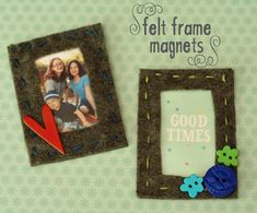 We love making homemade gifts, but don't always have the time for elaborate crafts as Christmas approaches. However, these magnetic felt frames with photo pockets are quick to make and oh, so cute! The color possibilities are endless, and there... Continue Reading →