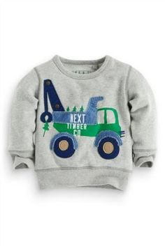 Buy Grey Vehicle Crew (3mths-6yrs) from the Next UK online shop
