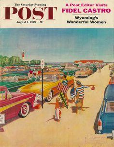 vintage Saturday Evening Post August 1959