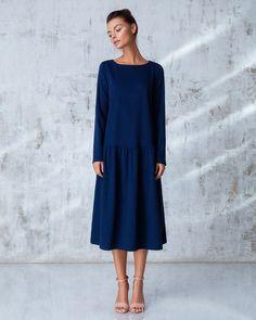 Платье «Даниэлла» миди сапфир, Цена— 26990 рублей