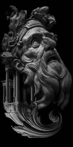 Renaissance Kunst, Italian Renaissance Art, Illustrator Design, Art Sculpture, Poses References, Photo D Art, Artwork Pictures, Art Mural, Art Background