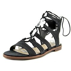 Vince Camuto Womens Tany Gladiator Sandal Black 8 M US >>> Discover this special product, click the image