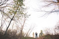 Pretty scenic engagement picture by Ella Photography/ Boudoir & Weddings   Two Bright Lights :: Blog
