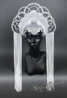 Silver Crown Headdress