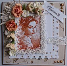 by Ankortit: Maribel stamp from Stempelglede