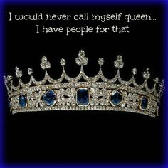 """Wouldn't that be cool?!  Reminds me of India Arie's song, """"Video"""" Beautiful song... We are Queen's... ladies!"""