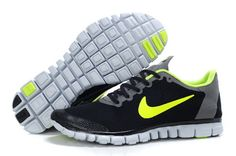 lower price with 5ee7f 439a7 2014 Nike Free 3.0 V2 Black Yellow Nike Free Run 3, Free Runs, Tiffany