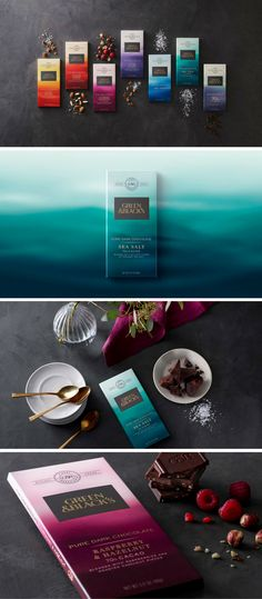 Green & Black's chocolate packaging by Bulletproof