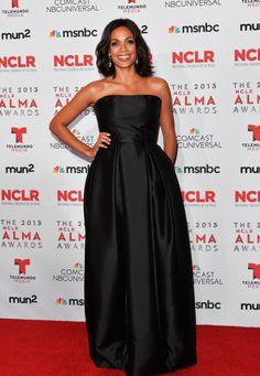 Fabulously Spotted: Rosario Dawson Wearing Houghton - 2013 NCLR ALMA Awards  - http://www.becauseiamfabulous.com/2013/09/rosario-dawson-wearing-houghton-2013-nclr-alma-awards/