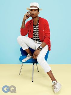 Pharrell Covers GQ Style Bible, Talks Music Why Hes Cool image pharrell gq photos 003