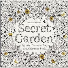 Secret Garden: An Inky Treasure & Coloring Book