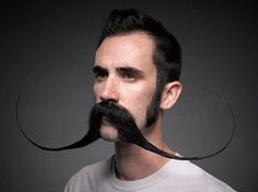 And this other guy… | Community Post: 18 Quirky Portraits From The National Beard And Mustache Championships