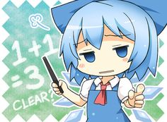 happy Cirno day ~ by *GreenTeaNeko on deviantART Picture Search, Manga Pictures, Vocaloid, Sonic The Hedgehog, Pokemon, Fairy, Deviantart, Drawings, Cute